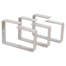 СБ Кабельный органайзер вертикальный (кольцо) металлический 90x65мм