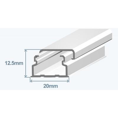 Efapel 10030CBR Короб (миниканал), 20x12.5мм