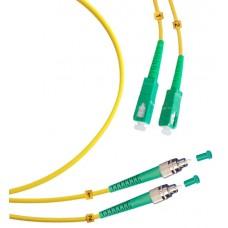 Шнур оптический duplex FC/APC-SC/APC 9/125 sm 20м