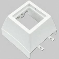 Efapel 10989ABR Фронтальный адаптер под модули Mosaic 45х45 мм для миниканала 75х20