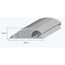Efapel 10110CCZ Напольный короб, 50х12мм, серый