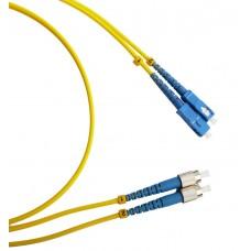 Шнур оптический (патч корд) duplex SC-FC 9/125 sm 25м
