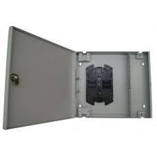 ШКО-Н (КН-16-ST(FC)-1КУ) Бокс оптический настенный на 16 ST(FC) со сплайс пластиной (без пигтейлов и проходных адаптеров)