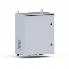 Термошкаф уличный навесной 500х400х300, укомплектованный, дверь металл (IP54), серый (RAL 7035), RMT03-504030