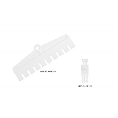 Размыкающий штекер для плинтов NIKOMAX, на 1 пару, белый, уп-ка 10шт.