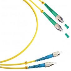 Шнур оптический duplex FC/APC-FC/UPC 9/125 sm 2м