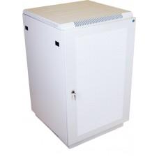 """Шкаф телекоммуникационный 19"""" напольный, 18U 600x600, дверь перфорированная, серый (RAL 7035), ШТК-М-18.6.6-4ААА"""