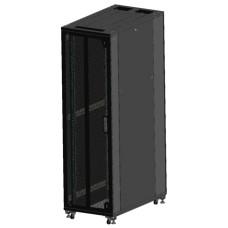 """Шкаф серверный 19"""" 38U 600x800, дверь перфорированная, черный (RAL 9005), RM02-0608.38.03"""