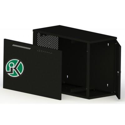 """Шкаф настенный серверный 19"""" 7U 600x800, дверь перфорированная, черный (RAL 9005), K-Box-777"""