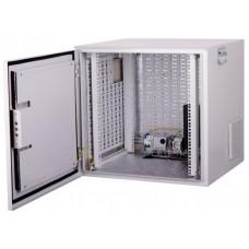 """Шкаф климатический настенный 19"""" 6U 600x350, дверь металл (IP54), серый (RAL 7035), RMT01-0635.06"""
