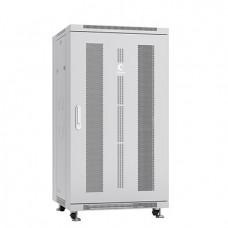 """Шкаф телекоммуникационный 19"""" 22U 600x600, дверь перфорированная, серый (RAL 7035), Cabeus, ND-05C-22U60/60"""