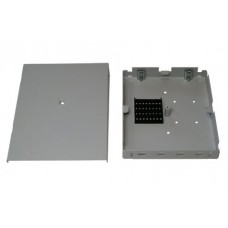 ШКО-Н-MК (КН-4-SС) Бокс оптический настенный Микро на 4 SC (LC duplex) (без пигтейлов и проходных адаптеров)