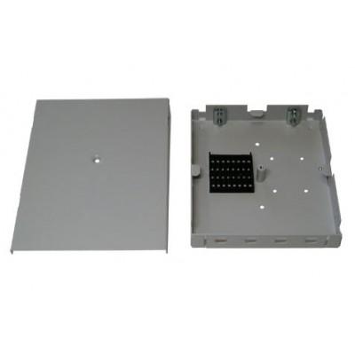 ШКО-Н-MК (КН-4-ST/FC) Бокс оптический настенный Микро на 4 ST(FC) (без пигтейлов и проходных адаптеров)
