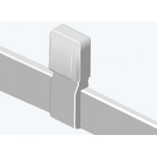 Efapel 10017ABR Отвод для внешней розетки, 12х7мм