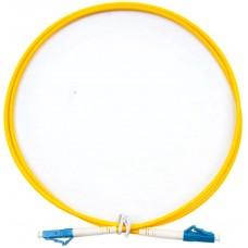 Шнур оптический (патч-корд) simplex LC/UPC-LC/UPC 9/125 3м, SPC-9-LC/U-LC/U-3.0-3