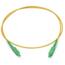 Шнур оптический (патч-корд) simplex SC/APC-SC/APC 9/125 1м, SPC-9-SC/A-SC/A-3.0-1
