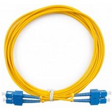 Шнур оптический (патч-корд) duplex SC/UPC-SC/UPC 9/125 5м, DPC-9-SC/U-SC/U-3.0-5