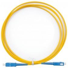 Шнур оптический (патч-корд) simplex SC/UPC-SC/UPC 9/125 1м, SPC-9-SC/U-SC/U-3.0-1