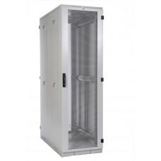 """Шкаф телекоммуникационный серверный 19"""" 42U 600x1250, дверь перфорированная, серый (RAL 7035), ЦМО ШТК-С-42.6.12-48АА"""